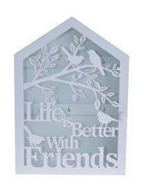 "Szafka na Klucze ""LIFE IS BETTER WITH FRIENDS"""